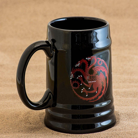 Game of Thrones Ceramic Stein Targaryen Sigil