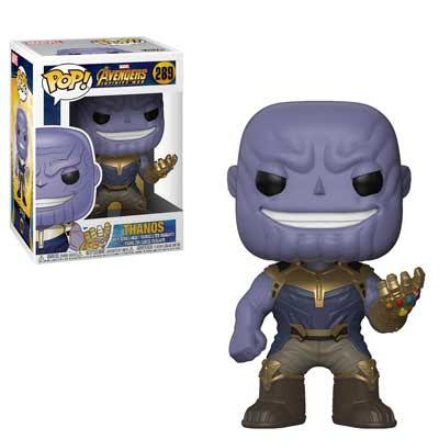 Pop Marvel Avengers Infinity War Thanos Vinyl Figure