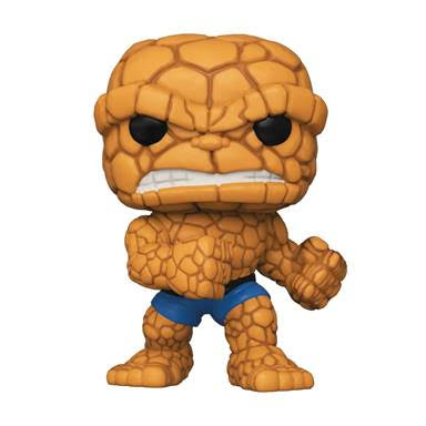 Pop Marvel Fantastic Four The Thing Vinyl Figure