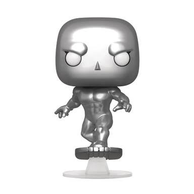 Pop Marvel Fantastic Four Silver Surfer Vinyl Figure