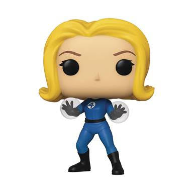 Pop Marvel Fantastic Four Mister Invisible Girl Vinyl Figure