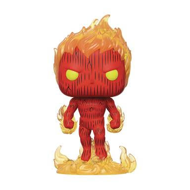 Pop Marvel Fantastic Four Human Torch Vinyl Figure