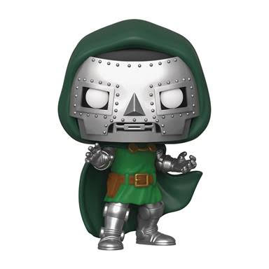 Pop Marvel Fantastic Four Doctor Doom Vinyl Figure
