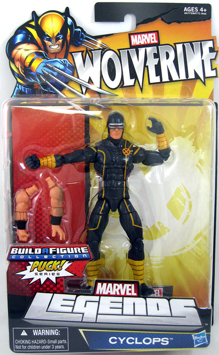 Wolverine Legends Cyclops Action Figure