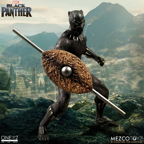 One-12 Collective Marvel Black Panther Action Figure
