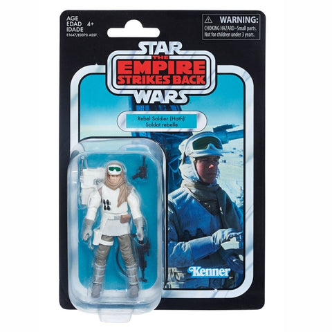 Star Wars Vintage 3.75-Inch Hoth Rebel Soldier Action Figure