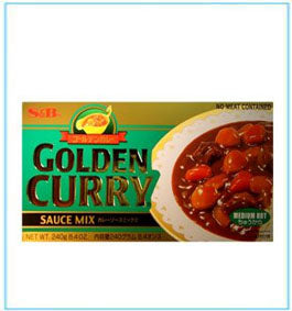 SB - 日本咖喱粒-中辣 Golden Curry Medium Hot