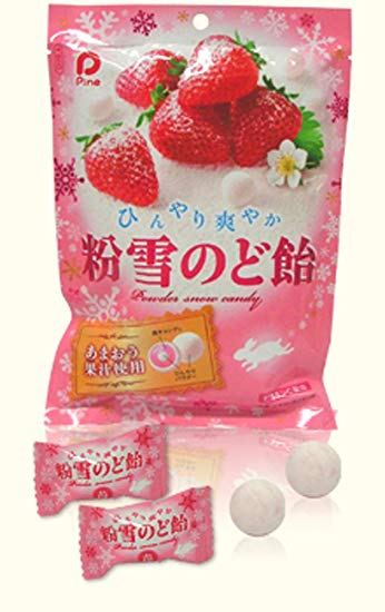 日本草莓巧克力Pine Powder Snow Candy 70g