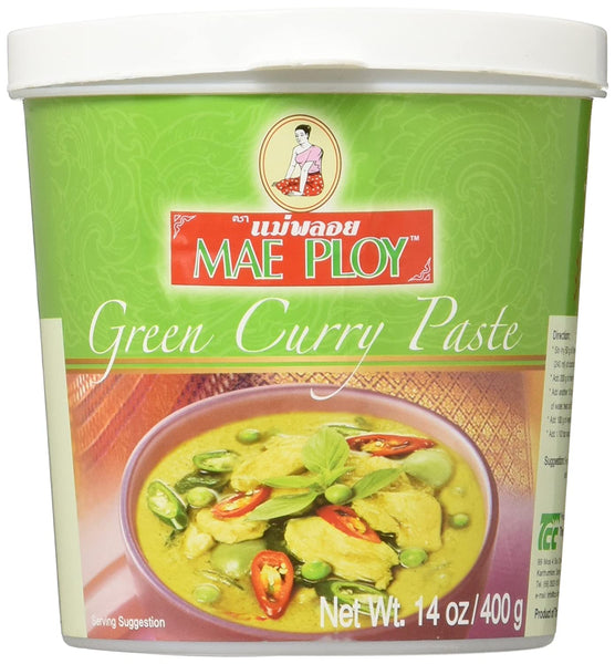 MAE PLOY 泰国咖喱酱 GREEN CURRY PASTE  14 OZ
