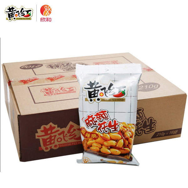 HUANGFEIHONG SPICY PEANUTS- 110g(30 BAGS)