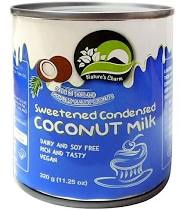 natrue's charm Sweetened condensed cocconut milk 11.25OZ
