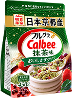 日本 CALBEE 早餐 FRUIT& GRANOLA 15OZ( 抹茶味)