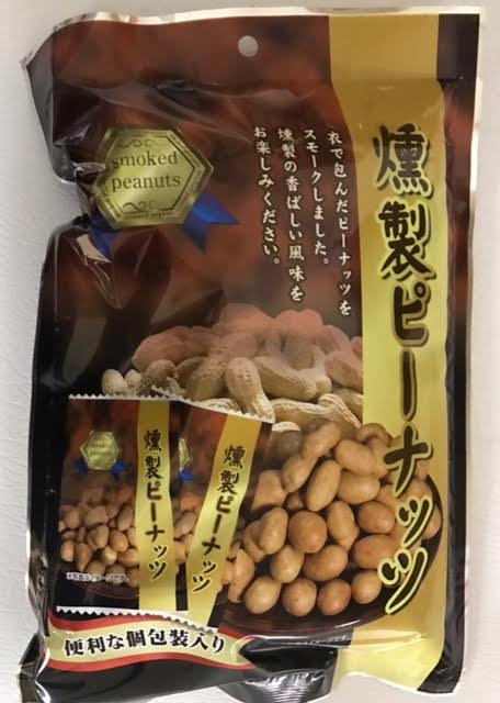 smoked peaunts 日本熏花生115G