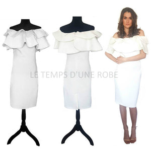 ROBE DE COCKTAIL BIANCA