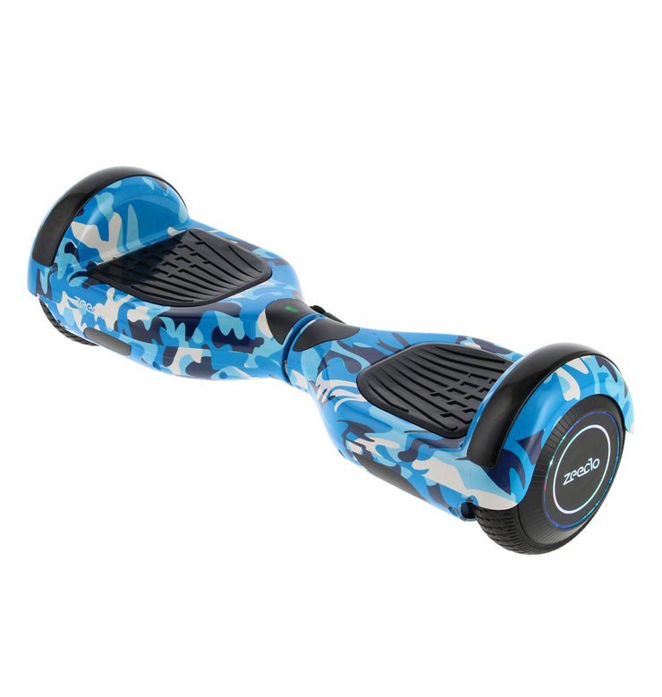 "Hoverboard 6,5"" Bluetooth Azul Camo"