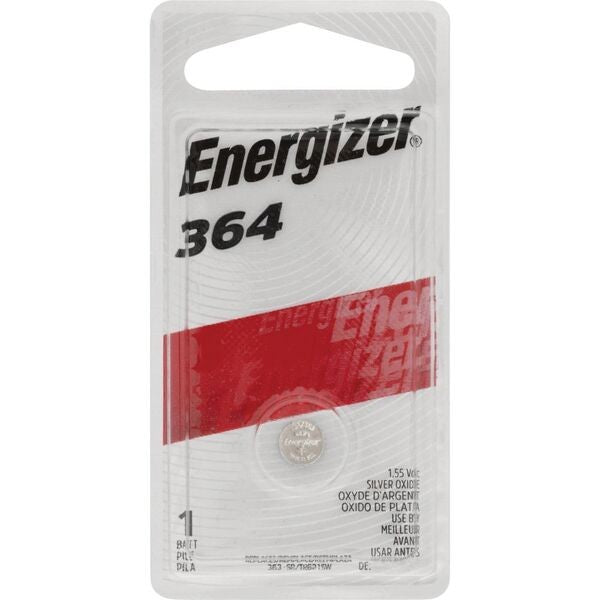 Energizer 364/363 Silver Oxide Button Battery