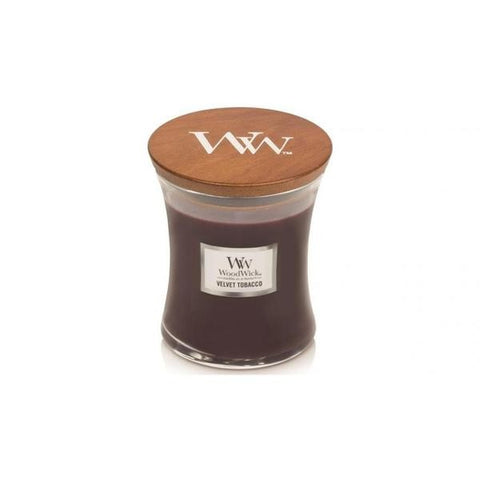 WoodWick Velvet Tobacco Medium