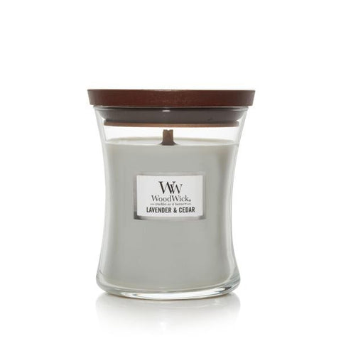 WoodWick Lavender & Cedar Medium