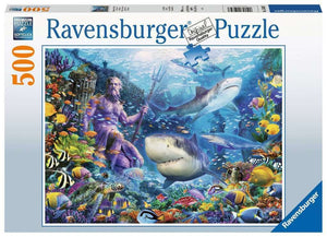 Ravensburger - King of the Sea 500pc Puzzle