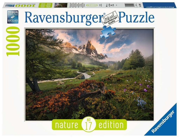 Ravensburger - Clare Valley, French Alps Puzzle 1000pc
