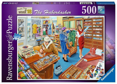 Ravensburger - The Haberdasher Puzzle 500pc
