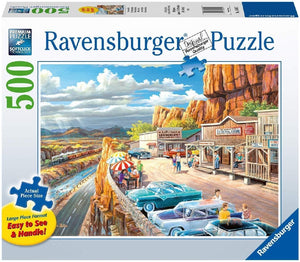Ravensburger - Scenic Overlook Large Format Puzzle 500pc