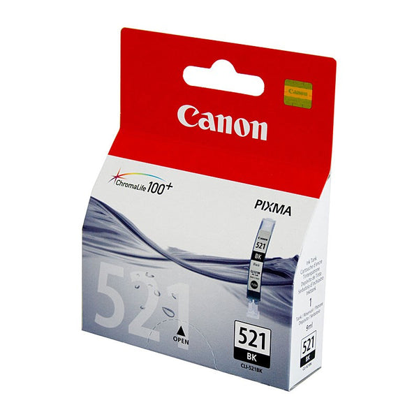 Canon CLI521 Black Ink Cart