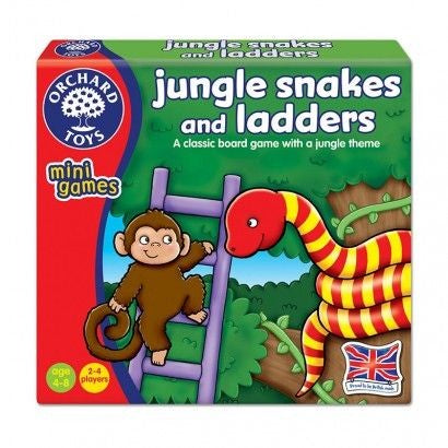 orchard Toys - Jungle Snakes & Ladders
