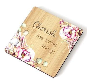 Bunch of Joy Coaster 10cm Cherish the Small Things