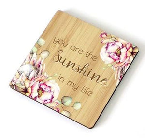 Bunch of Joy Coaster 10cm Sunshine
