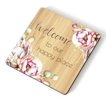 Bunch of Joy Coaster 10cm Welcome