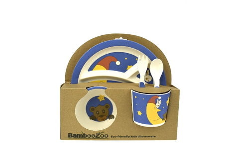 Bamboozoo Kids Dinnerwre Bear Rabbit