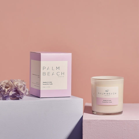 Palm Beach Candle Jasmine & Cedar 420g