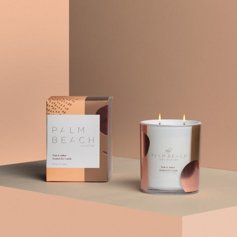 Palm Beach Candle Teak & Amber 420g