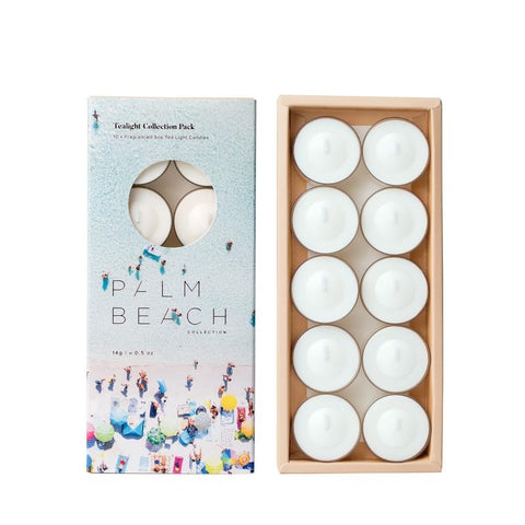 Palm Beach Tealight Candle Pack