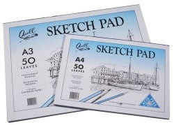 Sketch Pad Quill A2 110GSM 50 Leaf