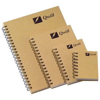 Hardcover Notebook Natural Quill A6 160 Pages
