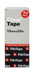Clear Tape 12mm Pack 12