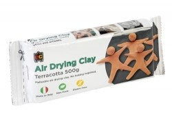 Educational Colours Air Drying Clay 500g Terracotta
