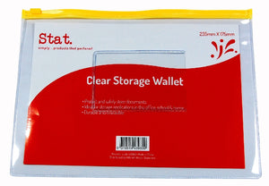 Clear Storage Wallet 235X175MM