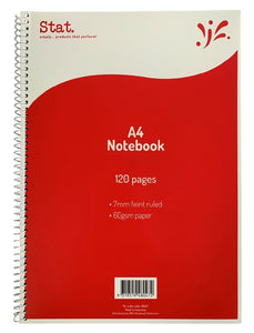 Notebook A4 120 Pages