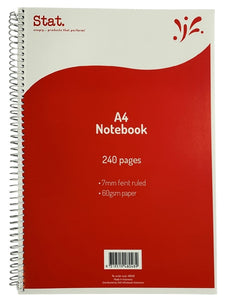 Notebook A4 240 Pages