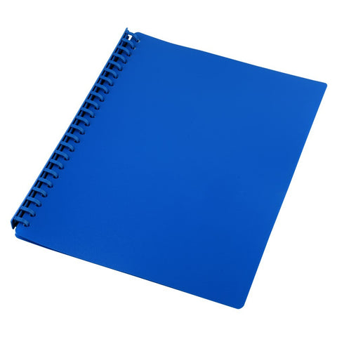 Display Book Blue