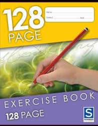 Exercise Book Sovereign 128PG Ruled 225X175mm