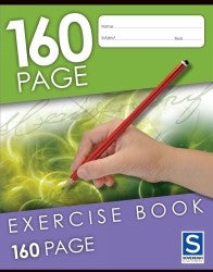 Exercise Book Sovereign 160PG Ruled 225X175mm