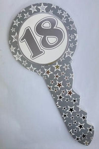 18th Keepsake Key Silver Stars