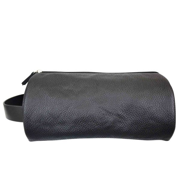 MENS DELUXE ROUND WASH BAG