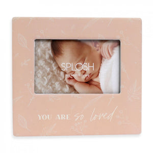 Baby Photo Frame Loved 4x6
