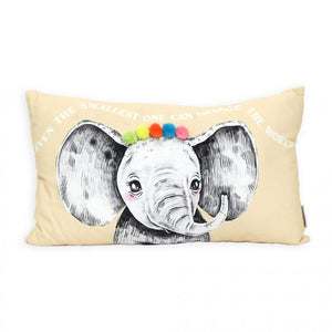 Baby Cushion Elephant 50x30