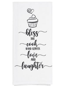 Tea Towel - Bless Cook